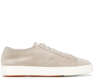 Santoni Flat Platform Low-Top Sneakers