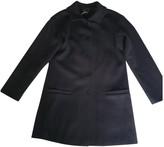 agnès b. Navy Wool Coat for Women