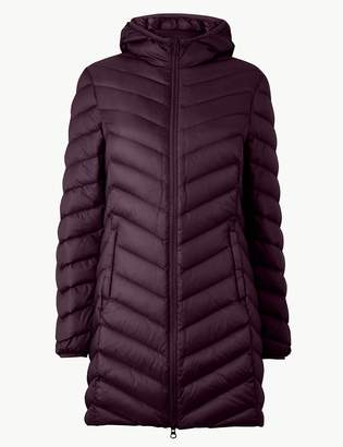 M&S CollectionMarks and Spencer Lightweight Down & Feather Coat