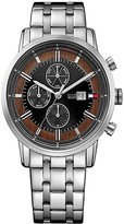 Tommy Hilfiger Stainless Steel Sport Watch With Contrast Face