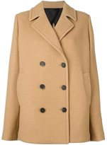 MSGM classic peacoat - women - Cotton/Polyamide/Viscose/Virgin Wool - 38