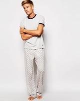 Original Penguin Pyjamas Set - Grey