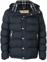 Burberry padded hooded jacket