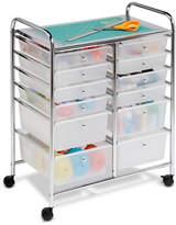 Honey-Can-Do Home Office Organization Cart, 12 Drawer
