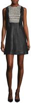 Manoush Leather Fringe Dress