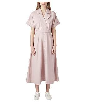 Camilla And Marc C & M C & M Audrey Belted Shirt Dress