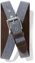 Old Navy Chambray Belt for Men