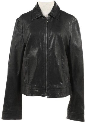 Dolce & Gabbana Black Leather Jackets