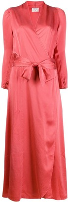 Forte Forte Petalo wrap dress
