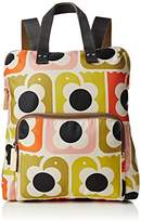 Orla Kiely Love Birds Print Backpack Tote