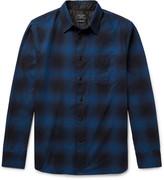 Rag & Bone Beach Checked Cotton-Twill Shirt