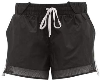 The Upside Sage Side-stripe Shorts - Womens - Khaki