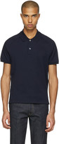 Gucci Navy Snake Back Polo