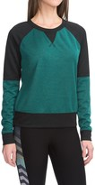 Steve Madden Two-Tone Knit Shirt - Long Sleeve (For Women)