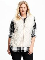 Old Navy Quilted Plus-Size Vest