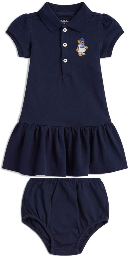 Polo Ralph Lauren Polo Bear Dress and Bloomers Set