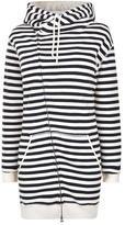 Maison Scotch Long Hooded Zip Sweatshirt