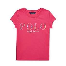 Polo Ralph Lauren Floral Polo Jersey T-Shirt (S-Xl)