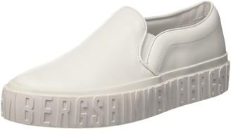 Bikkembergs Womens BKW102079 Slip On White Size: 4 UK