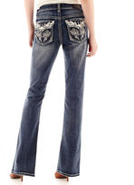 JCPenney LOVE INDIGO Love Indigo Wing Back Flap Pocket Jeans