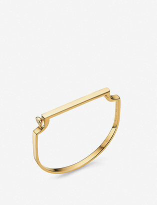 Monica Vinader Signature 18ct yellow gold-plated sterling-silver vermeil bracelet