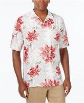 Tommy Bahama Men's 100% Festive Flora Silk Shirt