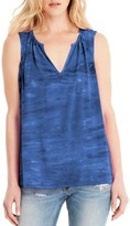 Michael Stars Women's Split Neck Tank