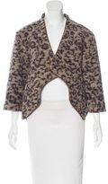 Thakoon Wool-Blend Asymmetrical Jacket