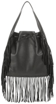Polo Ralph Lauren Fringed Leather Tote