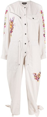 Isabel Marant Bird-Embroidered Jumpsuit