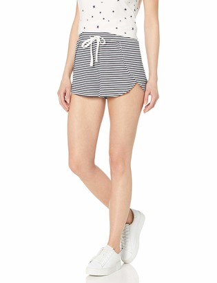 BB Dakota Women's line & Dine Stripe Overlap Short