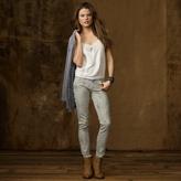 Denim & Supply Ralph Lauren Pieced-Lace Blouson Top