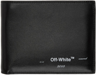 Off-White Black Logo Bifold Wallet
