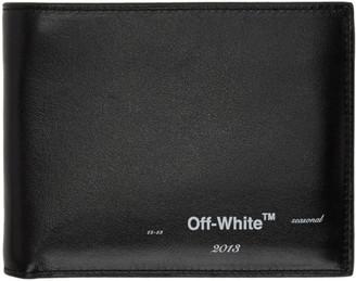 Off-White Off White Black Logo Bifold Wallet