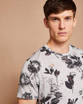 Ted Baker Floral print cotton Tshirt