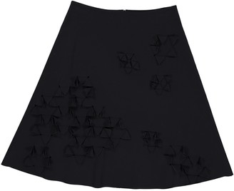PASKAL clothes Black Synthetic Skirts