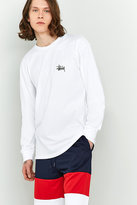 Stussy Basic Long-sleeve White T-shirt