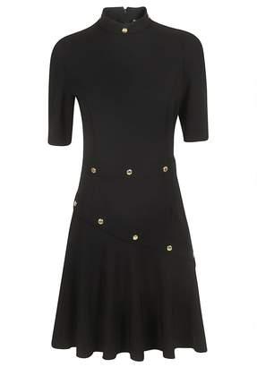 Versace Mid-length Studded Detail Dress