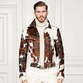Ralph Lauren Purple Label Clifton Cowhide Jacket