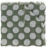 Faliero Sarti polka-dot scarf - women - Silk/Cotton/Modal - One Size