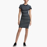 James Perse Striped Jersey Tee Dress