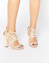 Little Mistress Leonie Strappy Heeled Sandals