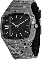 Diesel Trojan DZ1686 Men's Grey Silicone and Stainless Steel Watch