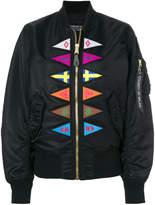 Marcelo Burlon County of Milan Flags Alpha MA-1 bomber jacket