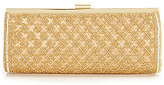Kate Landry Beaded Frame Clutch
