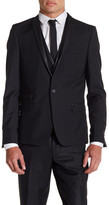 The Kooples Black Single Button Suit Jacket