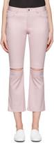 Nomia Pink Slit Knee Jeans