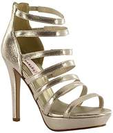 Dyeables Dyeables, Inc Women's Lola Platform Sandal,5 M US