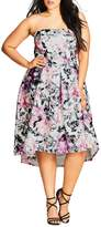 City Chic Gracie High/Low Dress