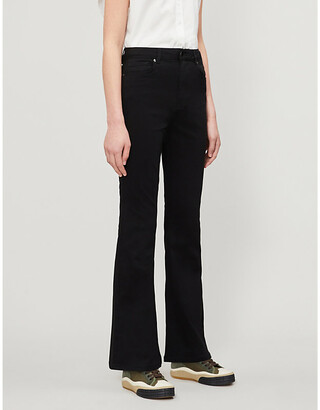Ted Baker Umali flared stretch-denim jeans